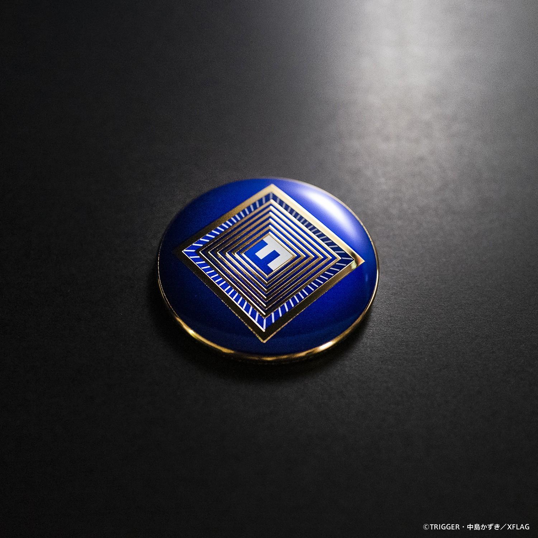 【受注生産】PROMARE / Can Badge Foresight Foundation Emblem (DELUXE ver)