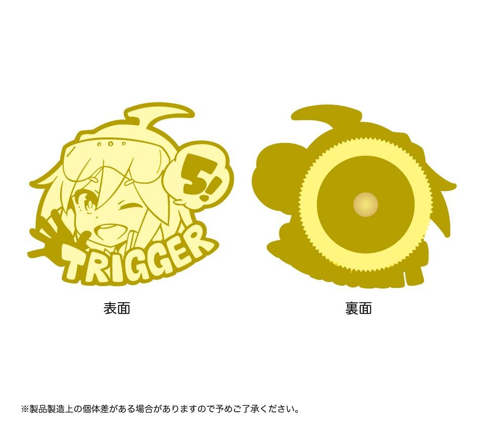 TRIGGER 5周年記念トリガーちゃんピンバッジ