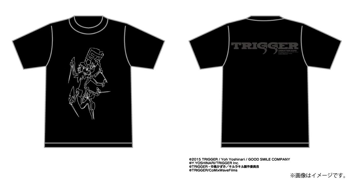 TRIGGER EXPO キルラキル蛇崩Tシャツ